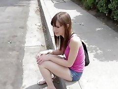 POVLife - Skinny jente Fucked På Biljardbordet