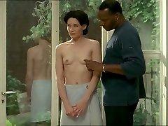 幅白人女性と黒人の恋人-エロスの雑