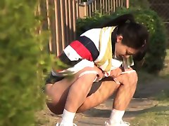 Asian babes piss relief