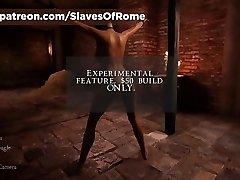 robovi u rimu igra-u-igri scena kazne-batine