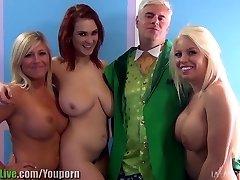 St. Patrick ' s pornstar orgie fest! Vol.1