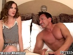 Huge Dicked Teacher gets Young Student