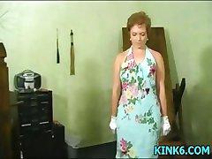 遅spankingの女性