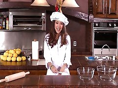Cute cook gets hard cock