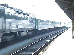 Man kurwa audytora w pociągu ciężko (Republika porno)