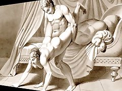 Erotično Art & Glasba - Waldeck Risbe