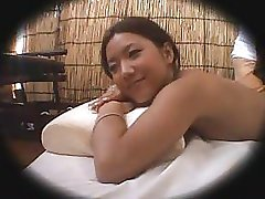 Caméra espion Massage Sexe dans un Club de Plage 1