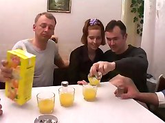 Russian Orgy With Father And girlfriend