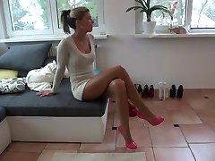 तामिया - ऊँची एड़ी के जूते zum abspritzen से ladygaga-ऊँची एड़ी के जूते वॉन MDH