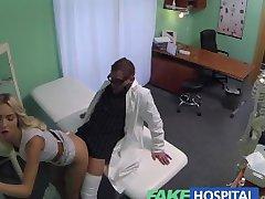 FakeHospital représentant des Ventes, pris en photo à l'aide de la chatte de vendre la gueule de bois médecin