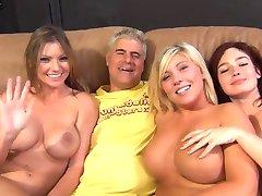 3女の子s Orgyとん