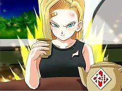 Hentai animacija Dragon Ball Z najprivlačnejših heroines
