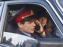 Uyanık Rus polisi