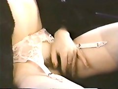 masturbating in the back of a taxi