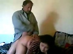 Indyjska pokojówka pieprzy