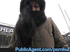 Duże bezdomna dziewczyna pieprzy się zapłacić za hotel