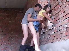 tenåring 18 yo russiske tenåringer knuller utendørs