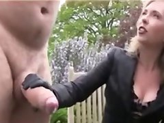 She Likes To Hear Him Cry While Stroking