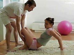 Chicas desnudas balllicking