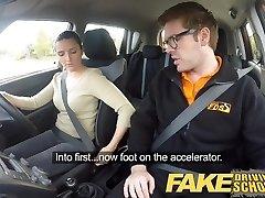 Falso Scuola Guida Peggior pilota Mai Ottenere Scopata in Auto