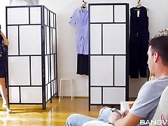 Dominica Phoenix Tyra Moon In Changing Room Poon