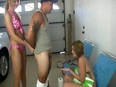 bikini handjob cfnm ffm