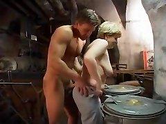 German Granny fucked hard