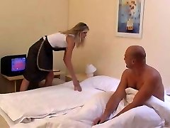 Maid gets ass fucked