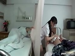 Japanese nurse loves sucking two part3