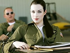 Stoya & Mick Blue in Top Guns, Scena 2