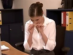 two workers double fuck the secretary