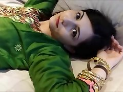 Anila in Green Shalwar kameez