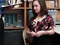 Shoplyfter - Whorish Teen Tried To Escape Gets Fucked Instead