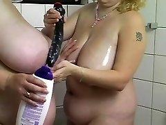 big-boobed blondes