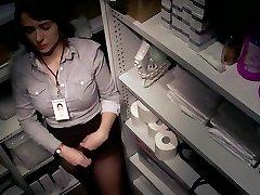 jeune secretaire voyeurisee onanism honteuse