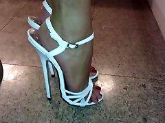 Mega highheels a piedi sexy