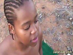 divlje afrički safari grupni seks