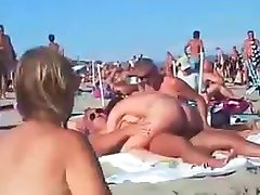 Swinger nudity beach
