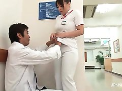 Horny and so sexy Asian nurse part1