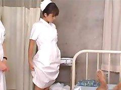 Japanski student sestre trening i praksa
