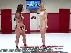 Konkurenční Lesbian Wrestling