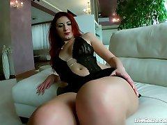 LiveGonzo Jennifer Stone Amaterka Redhead Eura