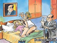 Vtipné porno komiks vtipy