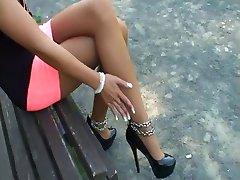 LGH - Tamia High Heels und Strumpfhose
