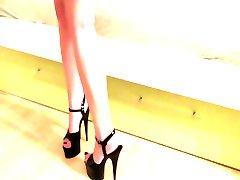High heels fuck