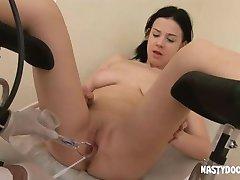 prekrasna nudi joj rupe u гинекологу