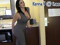 Nové Kenno V. smáčení její kalhotky a spandex
