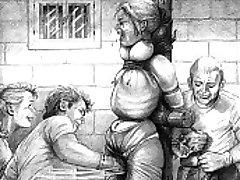 Zao užas BDSM umjetničko djelo