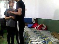 Indiase tiener College Liefhebbers Neuken In Hostel Room-en record - Wowmoyback
