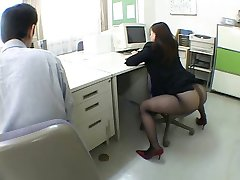 Japanese office girl drives me crazy by airliner1